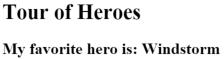 Title and Hero